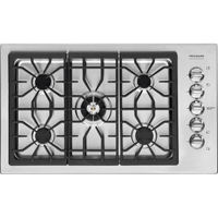 Frigidaire Professional FPGC3685KS 36 in. Stainless 5 Burner Gas Cooktop - FPGC3685KS - IN STOCK