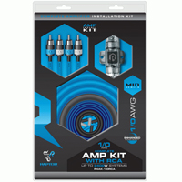 Metra 2400W 1/0 AWG AMP Kit with RCA Cable - R4AK-1-0RCA / R4AK10RCA - IN STOCK