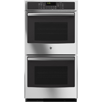 G.E. JK5500SFSS 27 in. Stainless Convection Double Wall Oven - JK5500SFSS - IN STOCK