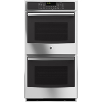 G.E. Profile PK7500SFSS 27 in. Stainless Convection Double Wall Oven - PK7500SFSS - IN STOCK