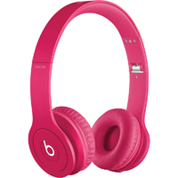 Beats By Dr. Dre SOLO HD On-Ear Headphones - Drenched in Pink - 900-00174-01 / SOLCW2PNK - IN STOCK