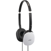 JVC Flats Over-The-Ear Headphones - HAS160WH - IN STOCK