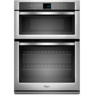 Whirlpool WOC54EC0AS 30 in. Stainless Wall Oven/Microwave Combination - WOC54EC0AS - IN STOCK