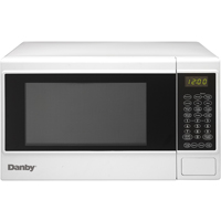 Danby DMW14SA1WDB 1.4 Cu. Ft. 1100W White Countertop Microwave Oven - DMW14SA1WDB - IN STOCK