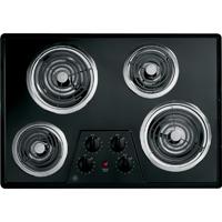 G.E. JP328BKBB 30 in. Black Coil Electric Cooktop - JP328BKBB - IN STOCK