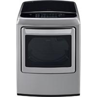 LG DLEY1701V Electric 7.3 Cu. Ft. Graphite High Efficiency European Design Top Load Dryer - DLEY1701V - IN STOCK