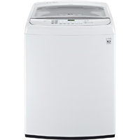 LG WT1701CW 5.0 Cu. Ft. White High Efficiency Europpean Deisgn Top Load Washer - WT1701CW - IN STOCK