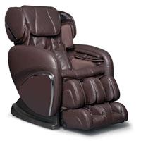 Cozzia Chocolate Leather 3D Zero G Massage Chair - EC618CHOC - IN STOCK