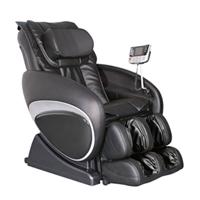 Cozzia Black Leather Zero G Massage Chair - 16027BLK - IN STOCK