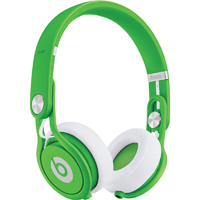 Beats By Dr. Dre MIXR Neon Green On-Ear Head Phones - 900-00096-01 / MIXRGRN - IN STOCK