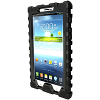 Hard Candy Shock Drop Case for Samsung Galaxy Tab 3 7 in. - Black - SD7SAM3BLK - IN STOCK