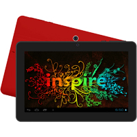 Supersonic 7 in. 4GB Android Tablet - Red - SC72JBRED - IN STOCK