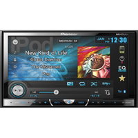 Pioneer 2-DIN DVD Receiver w/ 7 in. Touchscreen, Bluetooth, HD Radio, & SiriusXM Ready - AVH-X5600BHS / AVHX5600 - IN STOCK
