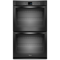 Whirlpool WOD51EC0AB 30 in. Black Double Wall Oven - WOD51EC0AB - IN STOCK
