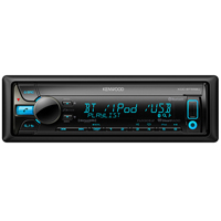 Kenwood CD Receiver w/ Bluetooth & Front Aux, USB - KDC-BT558U / KDCBT558 - IN STOCK