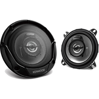 Kenwood 4 in. Round 2-way Speakers - KFC-1065S / KFC1065 - IN STOCK
