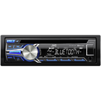 JVC In-Dash CD/USB/Bluetooth Receiver w/ iPod Controls, Pandora Support - KDR-850BT / KDR850 - IN STOCK