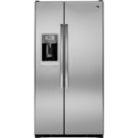 G.E. Profile PZS25KSESS 24.6 Cu. Ft. Stainless Side-by-Side Refrigerator - PZS25KSESS - IN STOCK