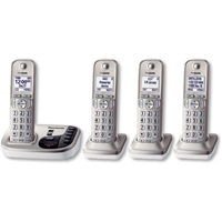 Panasonic DECT 6.0 Plus Digital Cordless Answering System w/ 4 Handsets - KX-TGD224N / KXTGD224 - IN STOCK