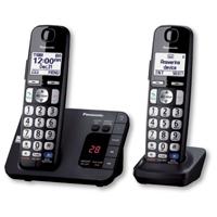 Panasonic DECT 6.0 Plus Digital Cordless Answering System w/ 2 Handsets - KX-TGE232B / KXTGE232 - IN STOCK