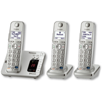 Panasonic DECT 6.0 Plus Link2Cell Bluetooth� Answering System w/ 3 Handsets - KX-TGE263S / KXTGE263 - IN STOCK