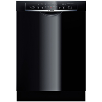 Bosch SHE3ARL6UC Stainless Steel Tall Tub Built-in Black Dishwasher - SHE3ARL6UC - IN STOCK