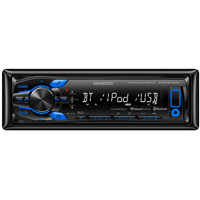 Kenwood Digital Media Receiver with Built-in Bluetooth - KMM-BT308U / KMMBT308 - IN STOCK
