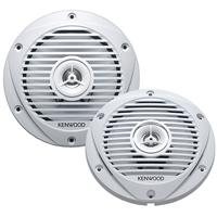 Kenwood 6-1/2 in. 2-way Marine Speakers - KFC1652 - IN STOCK