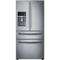Samsung RF28HMEDBSR 28.15 Cu. Ft. Stainless 4-Door French Door Refrigerator - RF28HMEDBSR - IN STOCK