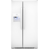 Frigidaire FFSS2614QP 26.0 Cu. Ft. White Side-by-side Refrigerator - FFSS2614QP - IN STOCK