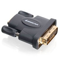 IOGEAR Gold Plated DVI Male to HD Female Adapter - GHDFDVIMW6 - IN STOCK