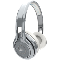 SMS Audio SYNC by 50 Bluetooth Wireless On-Ear Headphones - Cool Silver - SMS-BTWS-SLV / SMSBTWSSLV - IN STOCK