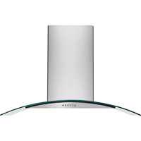 Frigidaire FHWC3660LS 36 in. Glass Canopy Wall-Mount Hood - FHWC3660LS - IN STOCK