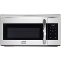 Frigidaire Gallery FGMV175QF 1.7 Cu. Ft. 1000W Stainless Over-the-Range Microwave Oven - FGMV175QF - IN STOCK