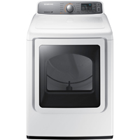Samsung DV45H7200EW Electric 7.4 Cu. Ft. White High Efficiency Top Load Dryer - DV45H7200EW - IN STOCK