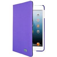 iHome Textured Swivel Folio for iPad mini - Purple - IH-IM1151U / IHIM1151U - IN STOCK
