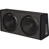 Kicker 200W Dual Loaded 12 in. Subwoofer Enclosure with Integrated Amplifier - 11PHD12 - IN STOCK