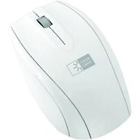 Case Logic 2.4 Ghz. Wireless Optical Mouse - White & Silver - EW-3002 / EW3002 - IN STOCK