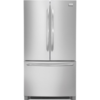 Frigidaire Gallery FGHG2366PF 22.6 Cu. Ft. Stainless Counter-Depth French Door Refrigerator - FGHG2366PF - IN STOCK