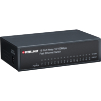 intellinet 16-Port Fast Ethernet Office Switch - 522595 - IN STOCK