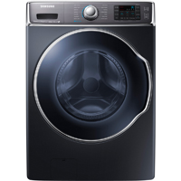 Samsung WF56H9100AG 5.6 Cu. Ft. Onyx Front Load Steam PowerFoam Washer - WF56H9100AG - IN STOCK