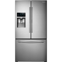Samsung RF28HDEDBSR 28 Cu. Ft. Stainless Food ShowCase French Door Refrigerator - RF28HDEDBSR - IN STOCK