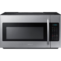 Samsung ME18H704SFS 1.8 Cu. Ft. 1000W Stainless Over-the-Range Microwave - ME18H704SFS - IN STOCK