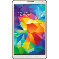 Samsung Galaxy Tab S 8.5 in. 16GB Android 4.4 White Tablet - SMT700NZWAXA - IN STOCK