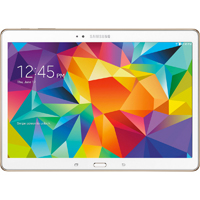 Samsung Galaxy Tab S 10.5 in. 16GB Android 4.4 White Tablet - SMT800NZWAXA - IN STOCK