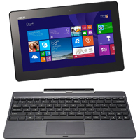 Asus Transformer Book 10.1 in., Intel Atom Z3775, 2GB RAM, 64GB Solid State Drive, Windows 8, Tablet PC - Gray - T100TA-C1-GR(S) / T100TAC1GRS - IN STOCK