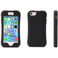 Griffin Survivor Slim for iPhone 5/5s - Black - GB39212 - IN STOCK