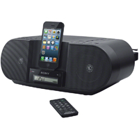 Sony CD Boombox with Lightning Connector - ZS-S3IPBLACKN / ZSS3IPN - IN STOCK