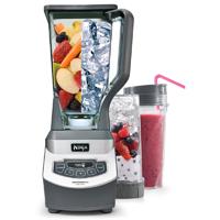 Ninja Professional Blender with Single Serve Blending Cups - BL660 - IN STOCK