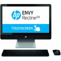 HP Envy  23 in. TouchScreen, Intel Core i3-4130T, 4GB RAM, 1TB Hard Drive, Windows 8.1 All-in-One - 23-K110 / 23K110 - IN STOCK